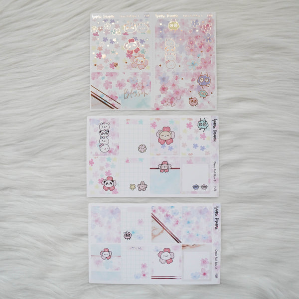 Sticker Kit - Blossom (3 Deco Full Boxes) - Foiled Stickers (F568 / F569 / F570)