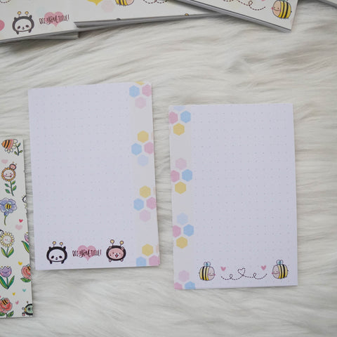 Disc / Rings Planner Inserts - Bee-YOU-tiful // Dotted