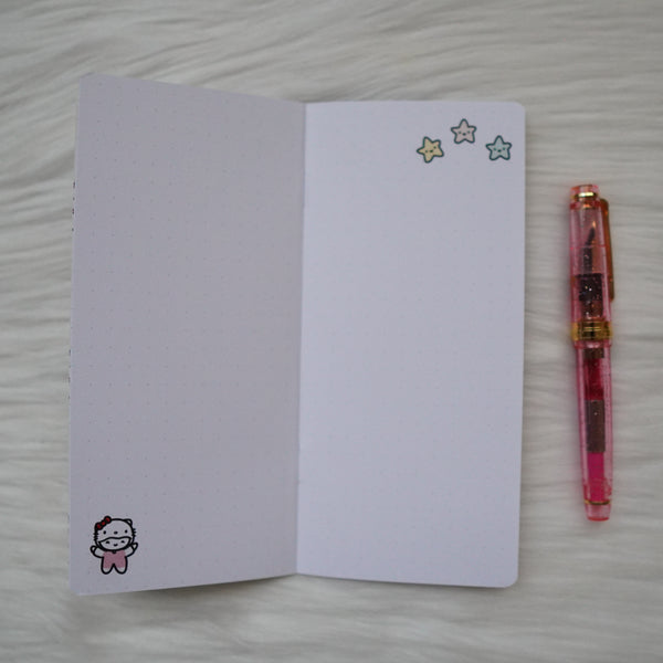Rings & TN Inserts - San-Munchkin // Collabs with Once More With Love - Dots (Hello Kitty & Friends)