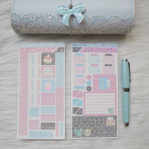 Hobonichi Weeks Sticker Kit - You Are Just My Type // H008 - Foiled Stickers