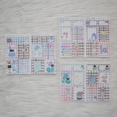 Sticker Kit - My Favorite Things (3 Deco Full Boxes) - Foiled Stickers (F586 / F587 / F588)