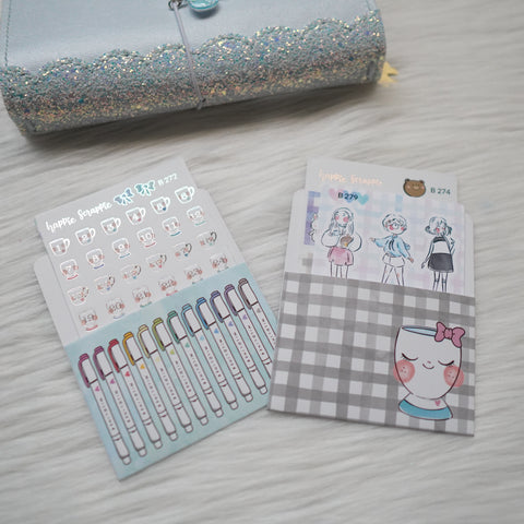 Sticker Pockets : My Favourite Things (Set of 2)