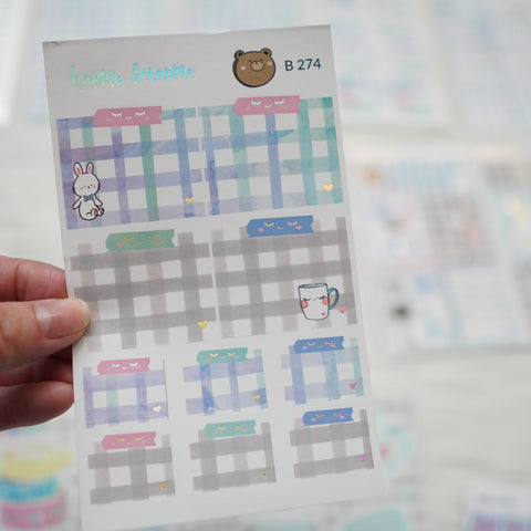 Planner Stickers : My Favorite Things  // Foiled Stickie Notes (B274)
