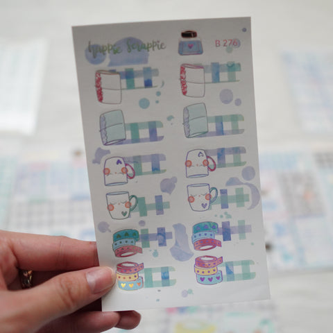 Planner Stickers : My Favorite Things // Foiled Tabs (B276)