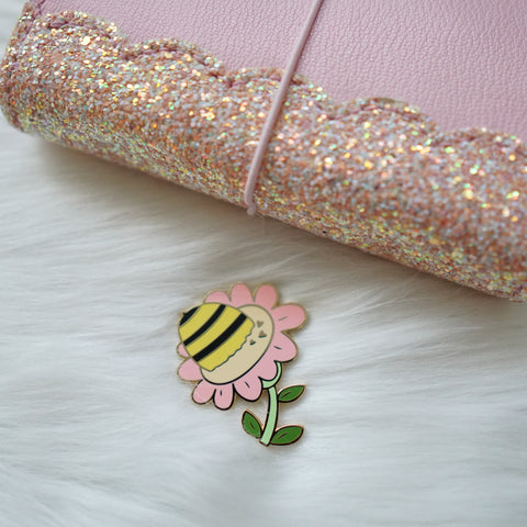 Pins : Bee Booties //  Magnetic Backing