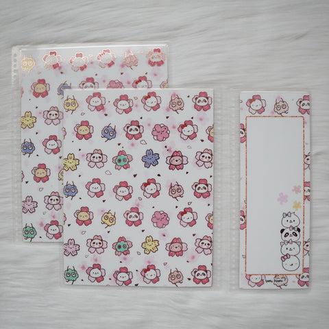 Planner Cover : Sakura Animals / Stacked Animal