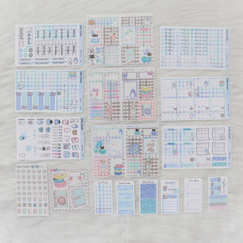 Sticker Kit - My Favorite Things (Set of 9 Sheets) - Foiled Stickers