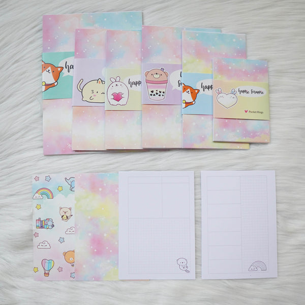 Disc / Rings Planner Inserts - You're My Happy Rainbow // Week-On-2-Page (Annie Plans Collab)