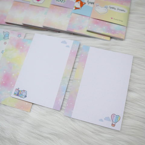 Disc / Rings Planner Inserts - You're My Happy Rainbow // Dotted