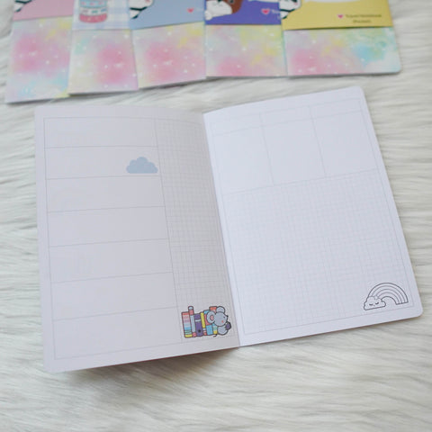 Travel Notebook (All Sizes) - You're My Happy Rainbow // Week-On-Two-Page (Annie Plans Collab)