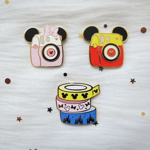Pins : Magic 1.0 //  Magnetic Backing