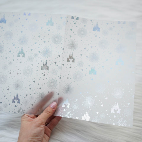 Vellum : Holo Silver Foiled // Magic (Set of 2)