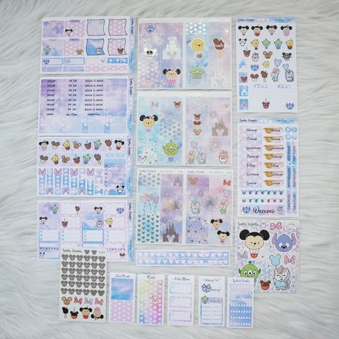 Sticker Kit -Magic (Set of 9 Sheets) - Foiled Stickers