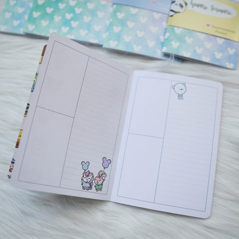 Travel Notebook (All Sizes) - Magic // Week-On-4-Page (Annie Plans Collab)
