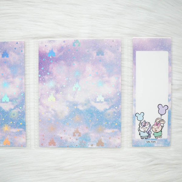 Planner Cover : Magic (Holo Silver Foiled)