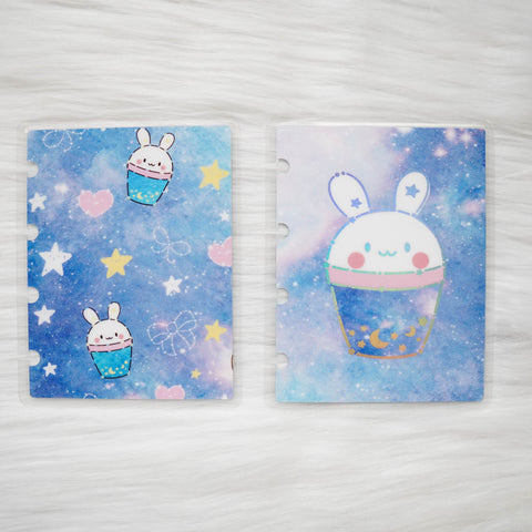 Planner Cover : Boba Bunny (Holo Silver Foiled)