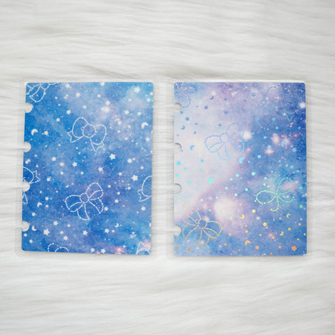 Planner Cover : Constellation (Holo Silver Foiled) // Collab with Fox & Pip & OnceMoreWithLove