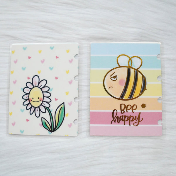 Planner Cover : Grumpy Bee (Gold Foiled)