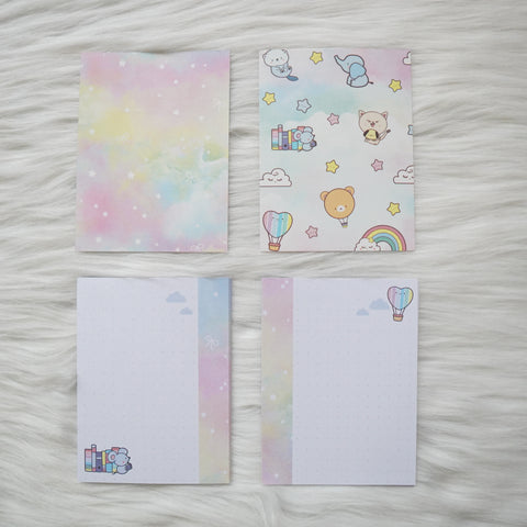 Micro HP Inserts - You're My Happy Rainbow // Dotted