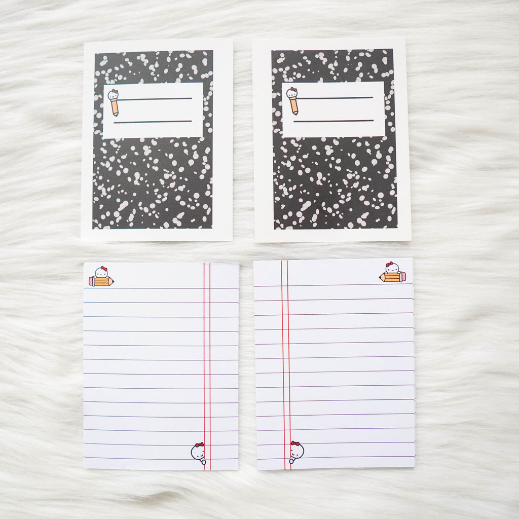 Micro HP Inserts - Back to School  // Collabs with Annie Plans Printables & OMWL