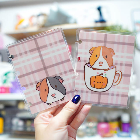 Planner Cover : Guinea Pig Cup // (Rose Gold Foiled)