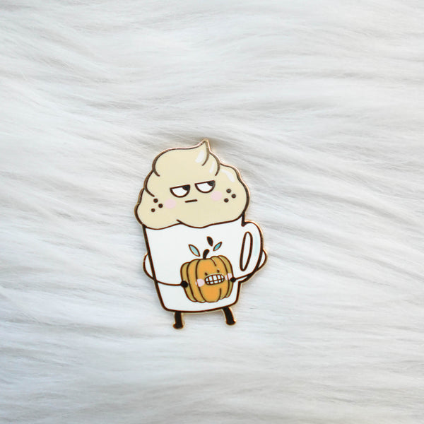 Pins : Pumpkin Spice Latte //  Magnetic Backing
