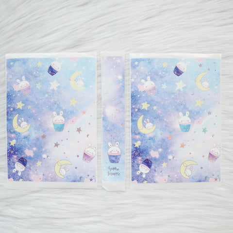 Sticker Album : Jumbo Sized Sticker Albums // J028 - Constellation Boba Bunny