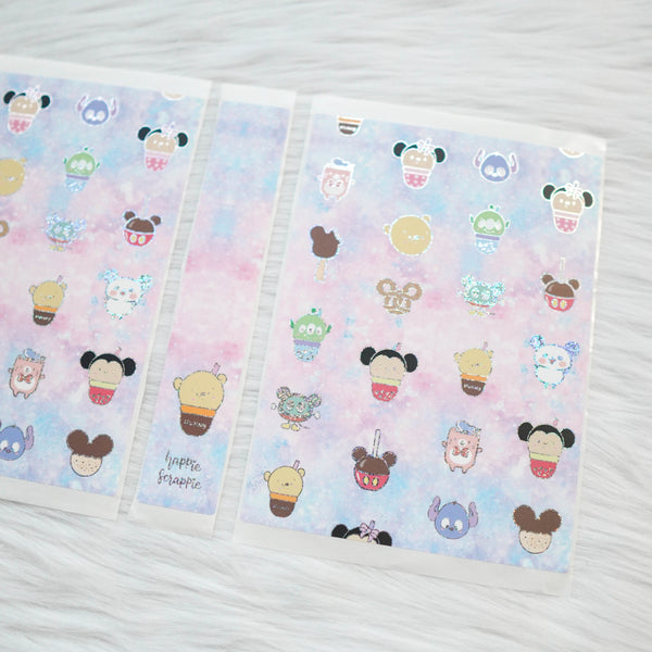 Sticker Album : Regular Sticker Albums // A092 - Magical Snacks (Collab with Sparkly Paper Co & Happy Daya)