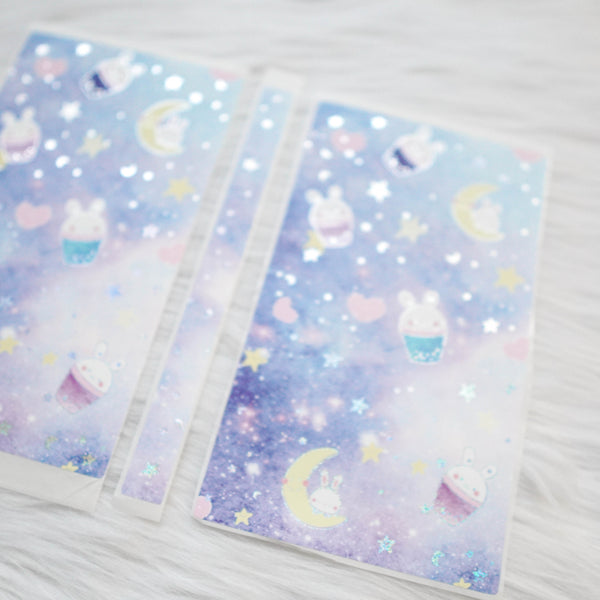 Sticker Album : Hobo Weeks Albums // W016 - Constellation Boba Bunny