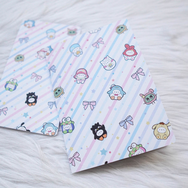 Travel Notebook (All Sizes) - Cutie Patootie // Weekly (With Month View)