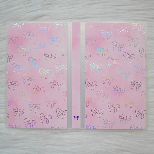 Sticker Album : Hobo Weeks Albums // W008 - Pink Pip Bow (Collab With Fox And Pip)