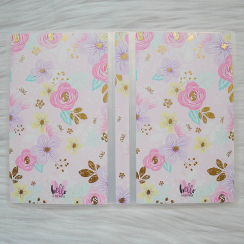 Sticker Album : Hobo Weeks Albums // W007 - Floral (Collab With Hello Petite Paper))
