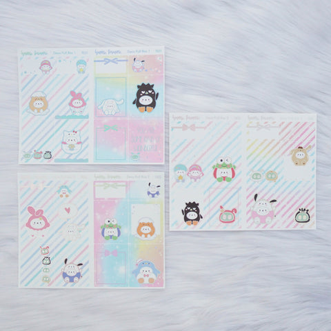 Sticker Kit - Cutie Patootie (3 Deco Full Boxes) - Foiled Stickers (F631 / F632 / F633)