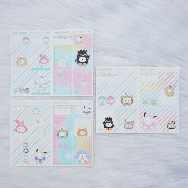 Sticker Kit - Cutie Patootie (Set of 9 Sheets) - Foiled Stickers