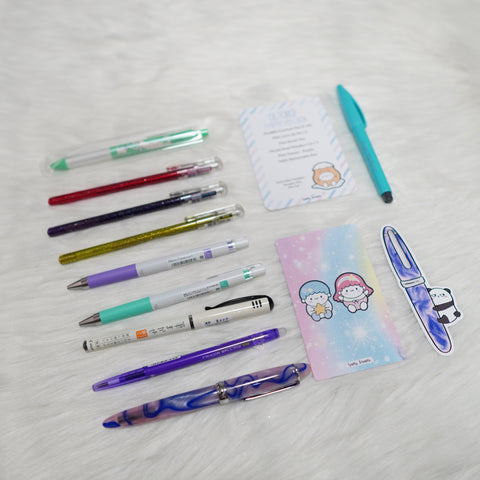 Happie Pen Box : Cutie Patootie // October 2019