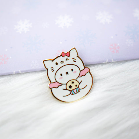 Pins : Cutie Patootie // Kitty //  Magnetic Backing