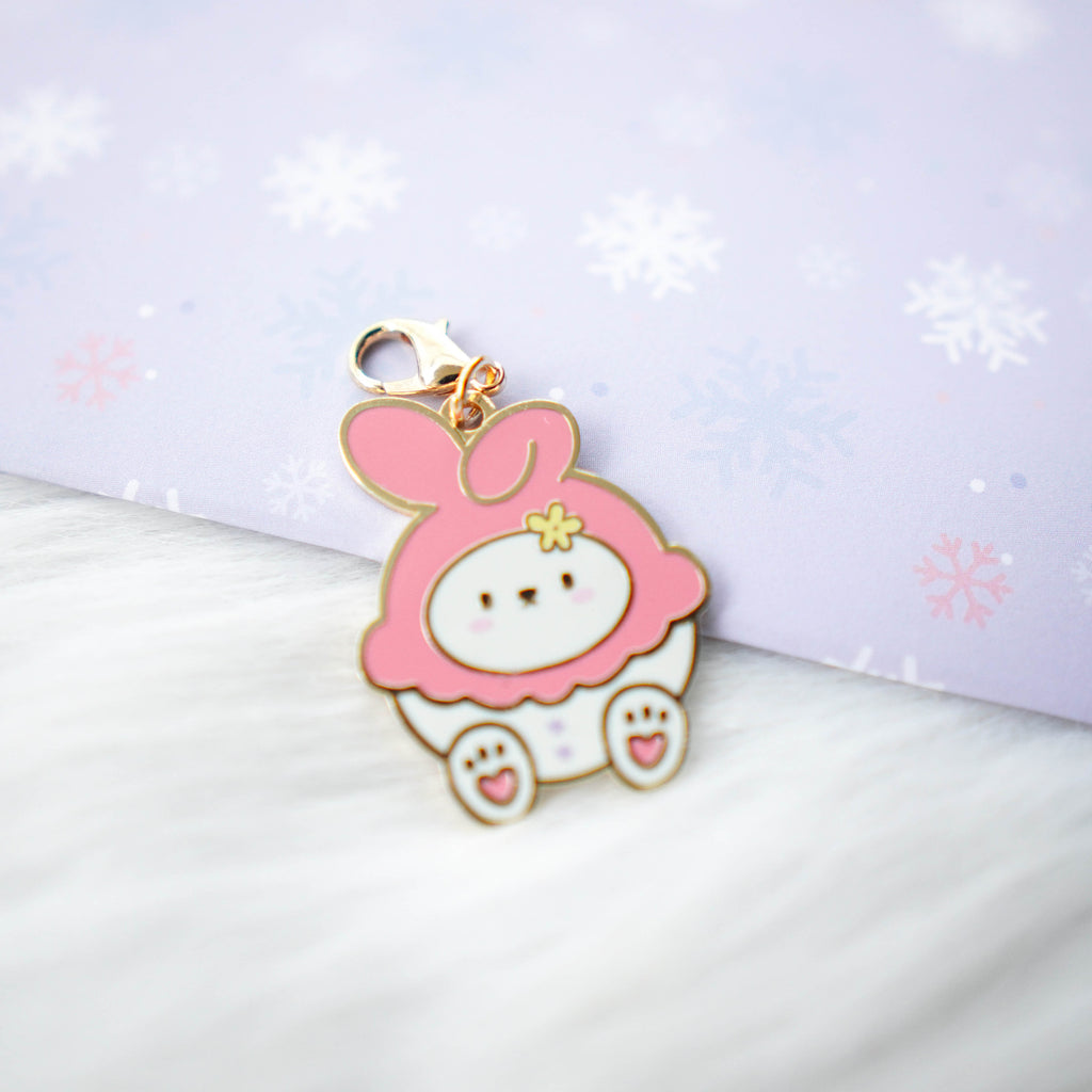 Dangling Charm : Cutie Patootie // Pink Melody Bunny