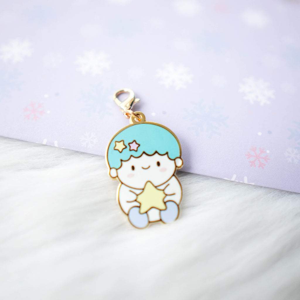 Dangling Charm : Cutie Patootie // Blue Hair Boy