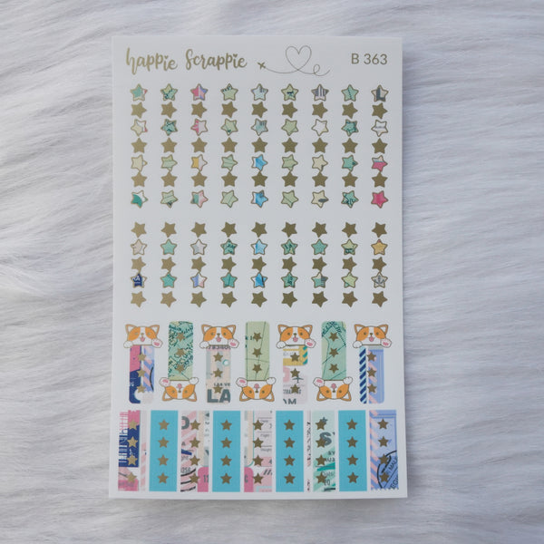 Planner Stickers : Let's Go Travel - Check List // Matte Gold Foil (B363)