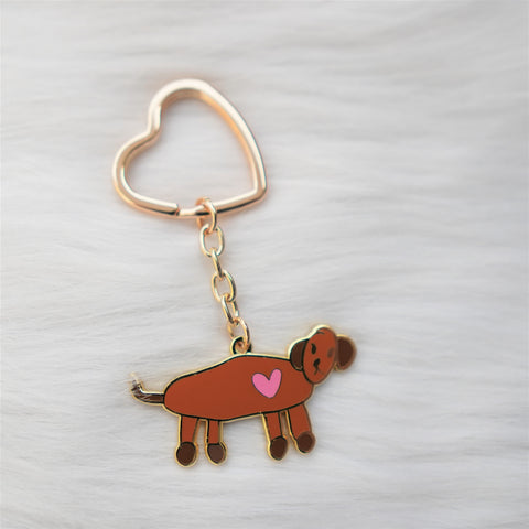 Key Chain : Koko's Happy Doggie