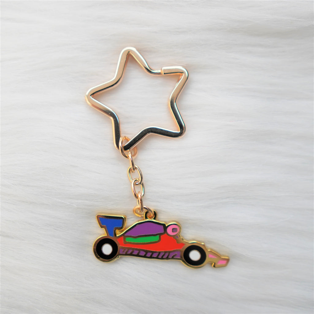 Key Chain : Koko's F1 Car