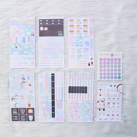 Hobo Weeks Sticker Kit: Positivi-TEA (STICKERS ONLY) // HW-001 -- HW-008