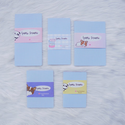 Travel Notebook (All Sizes) - Fave Things Kitty // Weekly (With Monthly View)