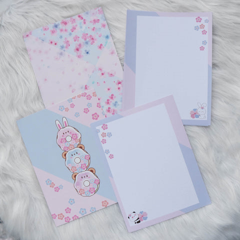 Disc / Rings Planner Inserts - Cherry Blossom Panda // Dotted
