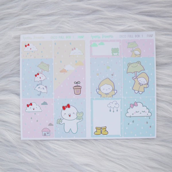 Sticker Kit - Spring Shower (3 Deco Full Boxes) - Foiled Stickers (F687 / F688 / F689)