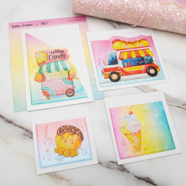Happie Planner Kit : Foodie's Delight // July 2020 // Collab With Molly