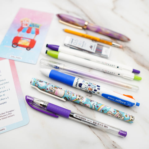 Happie Pen Box : Foodie's Delight// July 2020