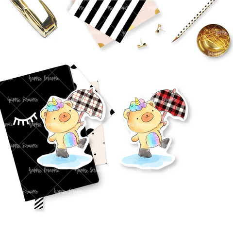 Die Cuts : Umbrella Beariecorn