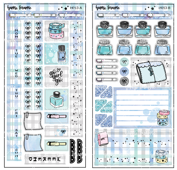 Hobonichi Weeks Sticker Kit - My Favorite Things // H013 - Foiled Stickers