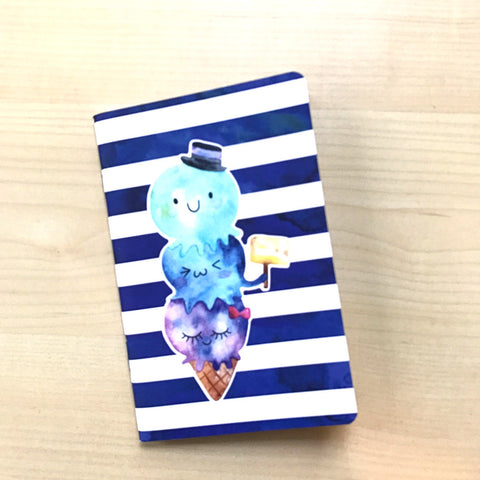 Inserts: Travel Notebook (FN Sized) : Mystical Ocean (Grid)